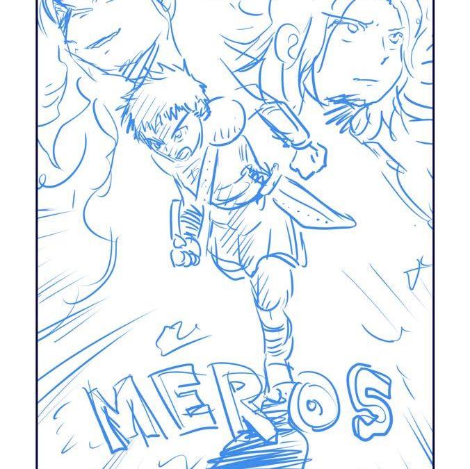 岡野純の「走れメロス」冒頭ネームは「3人の物語」を意識してみました