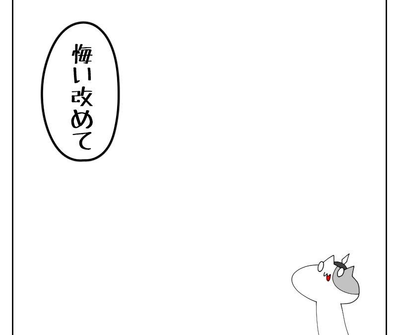 毒を吐く猫