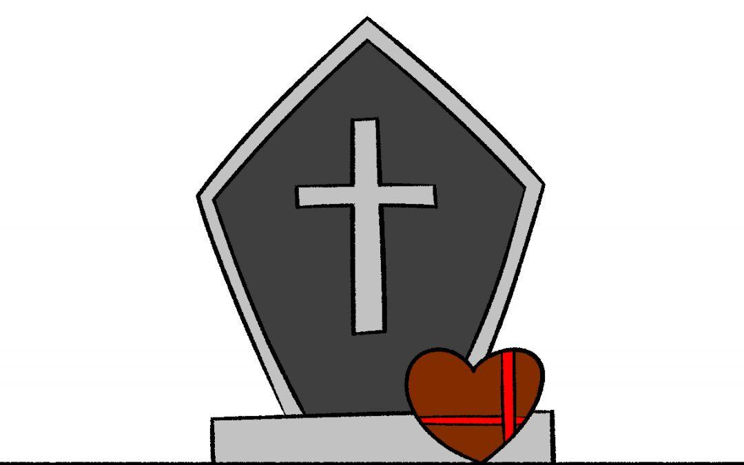 墓碑に愛を添えて